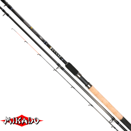 "Удилище штекерн.""Mikado"" NIHONTO Medium Feeder 390 ( до 120гр.) Carbon"