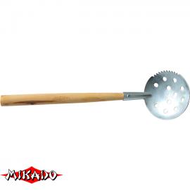 """Арт.S2-LU042 Черпак """" Mikado """" малый ( с деревянной ручкой )"""