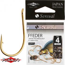"""*Крючки """" Mikado - SENSUAL - FEEDER 9109 """" (фас.=10уп.)"""