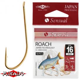 "*Крючки "" Mikado - SENSUAL - ROACH  101 "" (фас.=10уп.)"