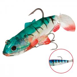 """Виброхвост """"Crystal Fish"""" WXH-63- 6см/ 41 оснащенный (1уп.-2шт.)"""