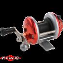 "Катушка - мультипликатор (зимняя) ""Mikado""  MiniTroll MT 1000-02 RED"