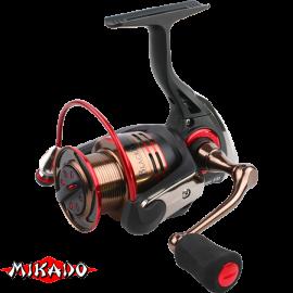 "Катушка рыб.""Mikado"" BLACK STONE 4006 FD (5+1подш., п.ч. 5,0:1) *бесконечн. винт*"