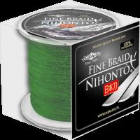 "Плетеный шнур "" Mikado "" NIHONTO FINE BRAID GREEN 0,10 ( 300м ) - 7,70кг"