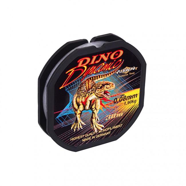 "Леска ""Mikado"" DINO DYNAMIC 0,08 (30м) - 1,90 кг"
