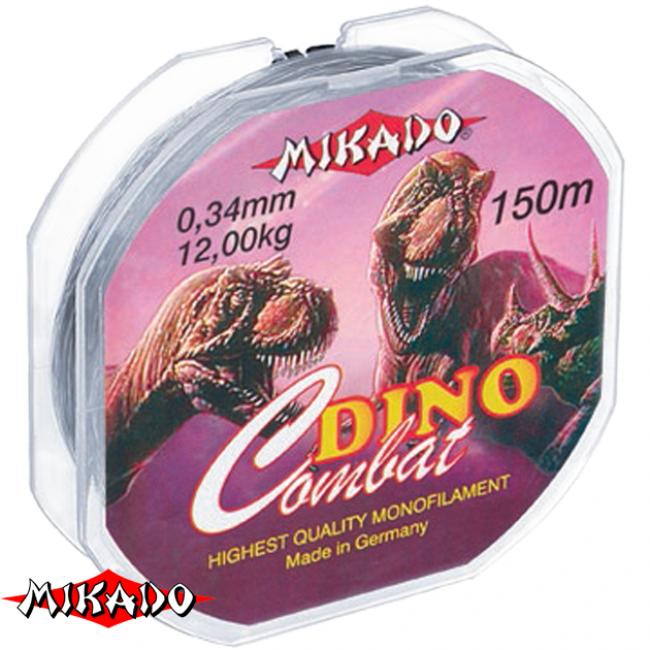 """Леска """"Mikado"""" DINO COMBAT 0,30 (150м) - 10,70 кг"""